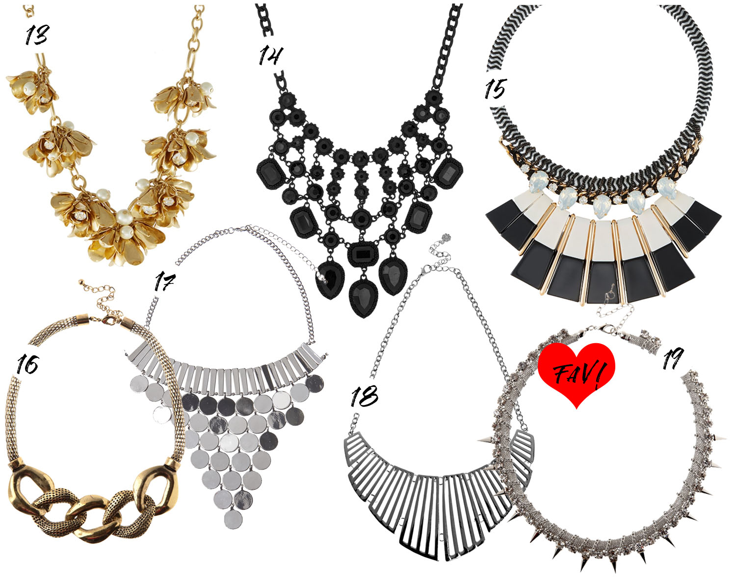 Modern Chic Statement Necklaces