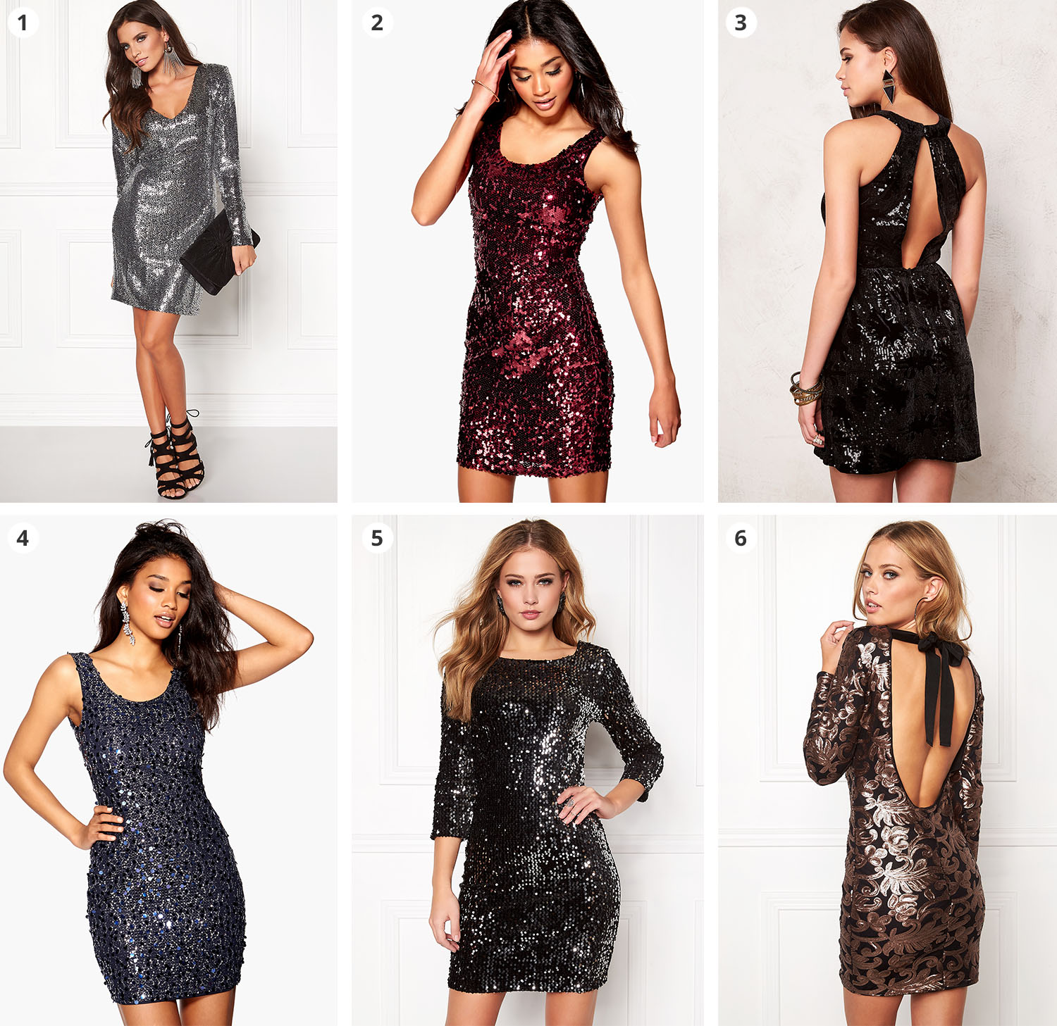 Paljettklanningar på rea | Sequin Dresses on Sale
