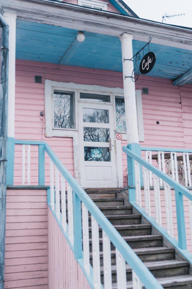Suomenlinna Pink & Blue Café