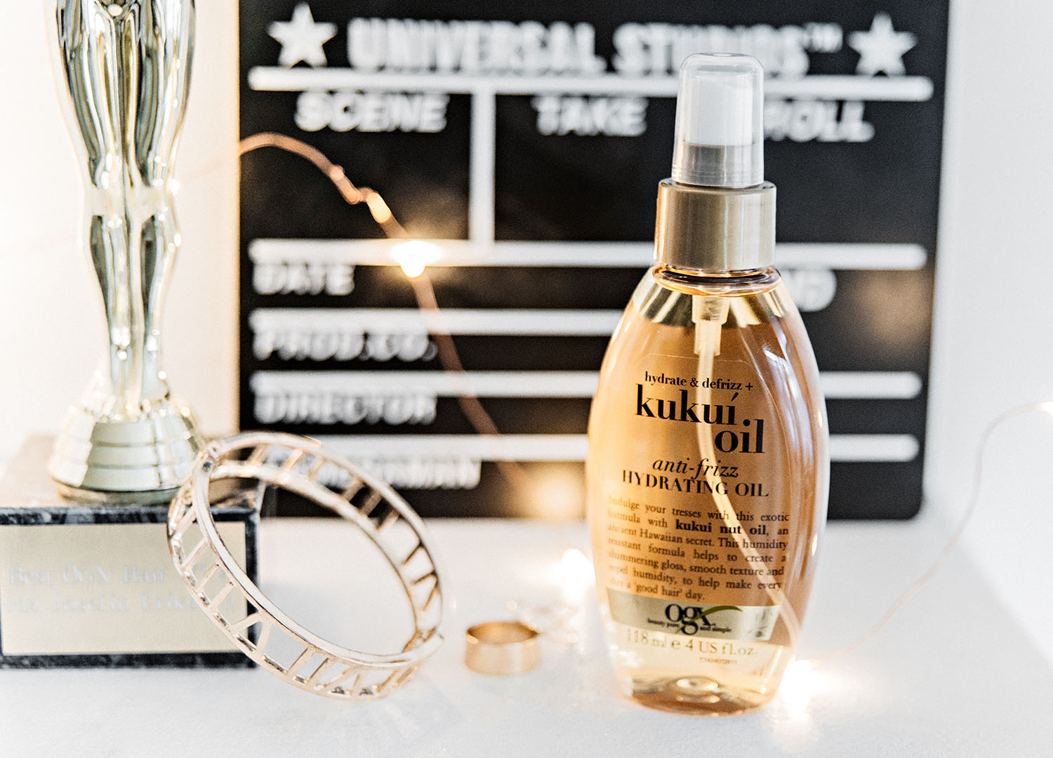 Ogx Kukui Oil Anti-Frizz Hydrating Oil