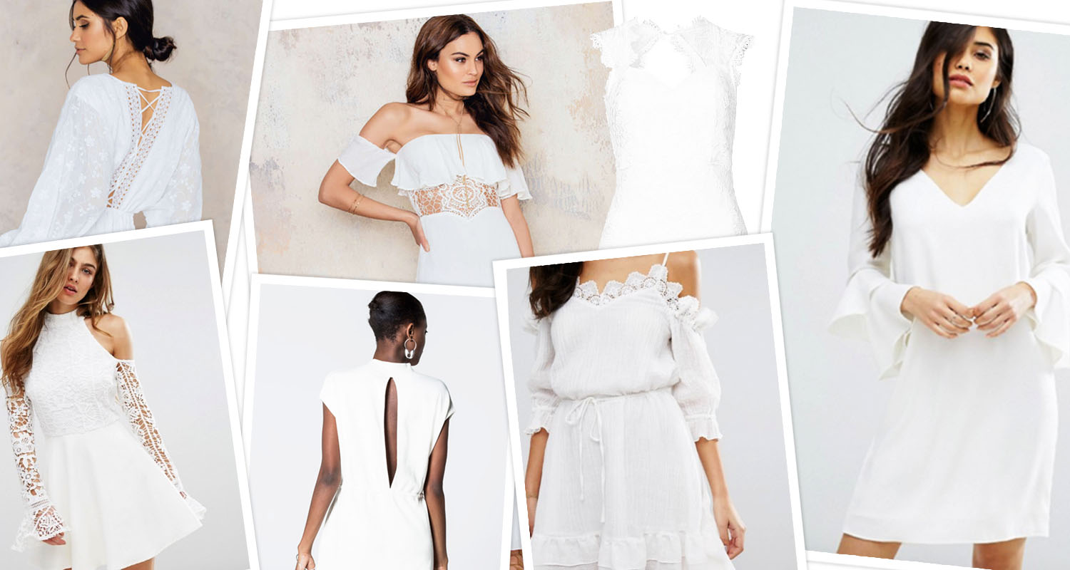 Graduation Dresses - The Ultimate Guide to Chic White ...