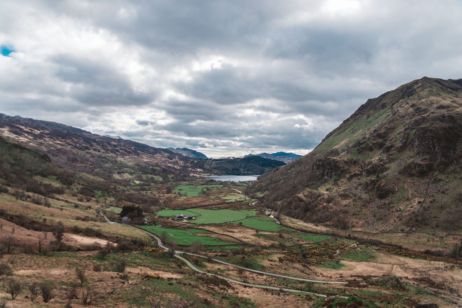 Nant Gwynant Pass - King Arthur: Legend of the Sword Filming Location in Wales