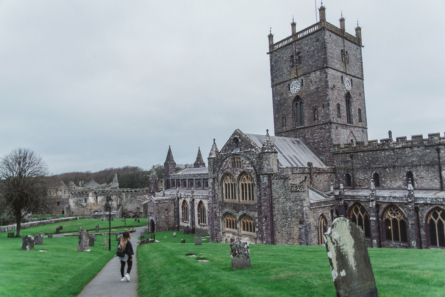 St David's Cathedral in Wales