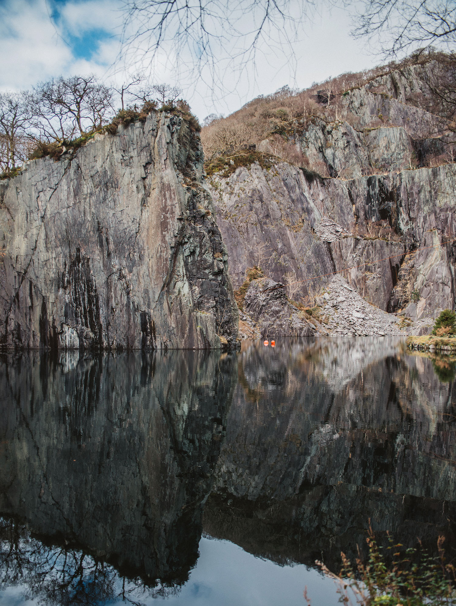 Vivian Quarry - King Arthur: Legend of the Sword Filming Location in Wales