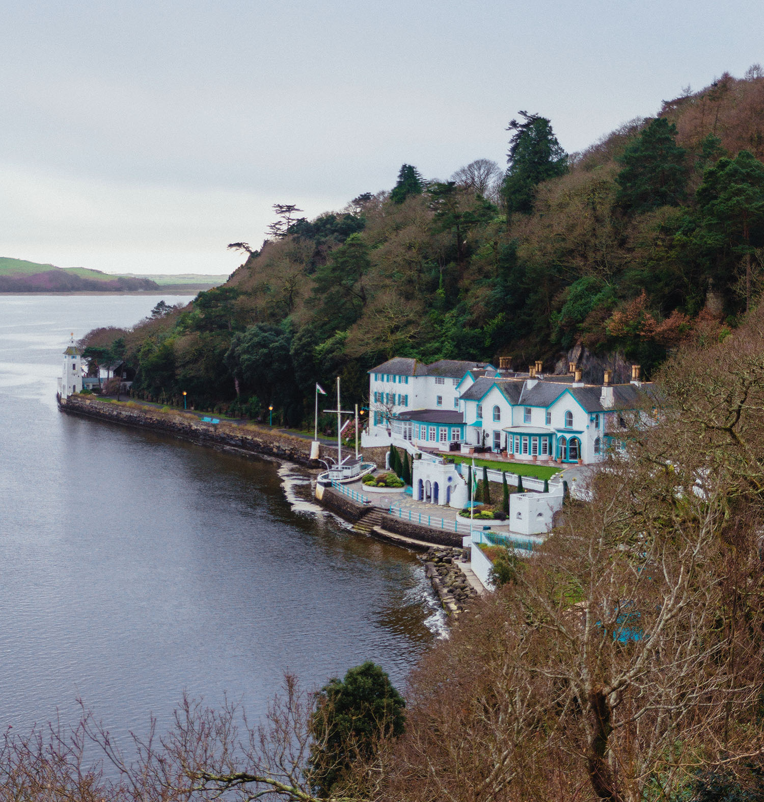 Portmeirion Village in North Wales