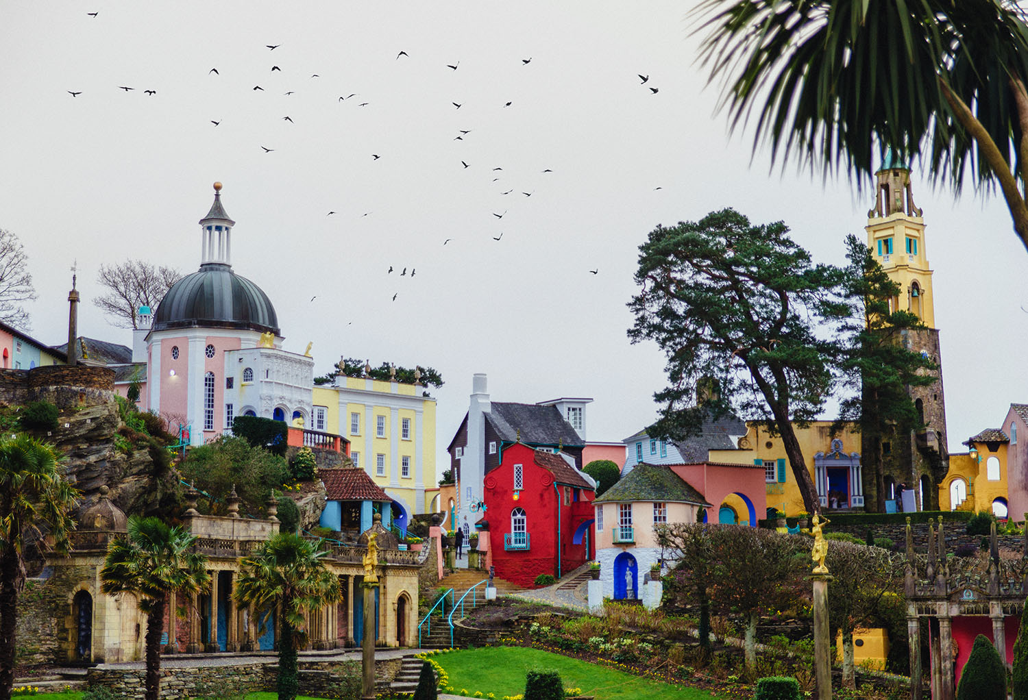 Portmeirion Village - Travel guide to a Welsh Fantasy Village Full of Surprises