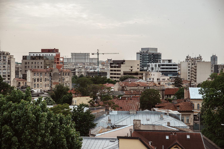 View of Bucharest, Romania
