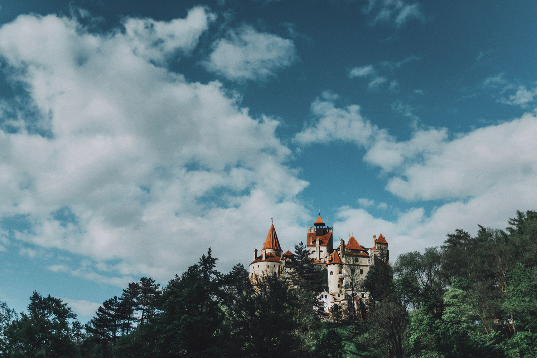 Dracula's Castle, Bran Castle in Transylvania