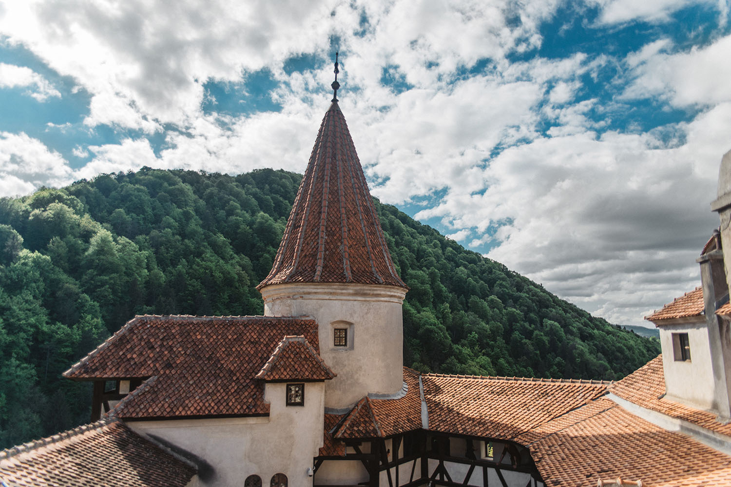 From Bucharest to Dracula's Castle in Transylvania (Bran Castle)