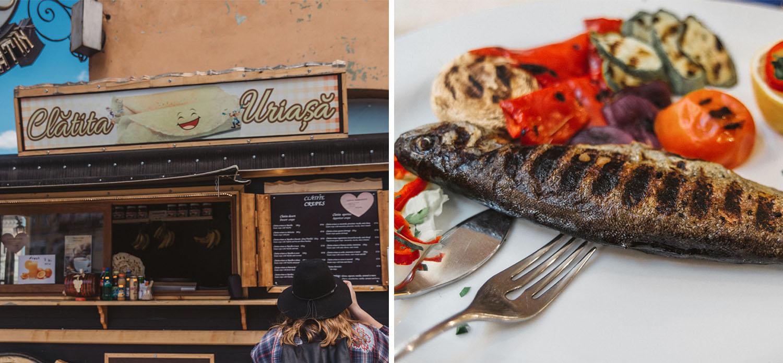 Food in Brasov, Transylvania