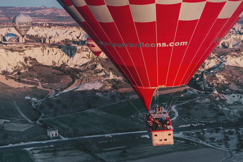Close up of Hot Air Balloon Basket