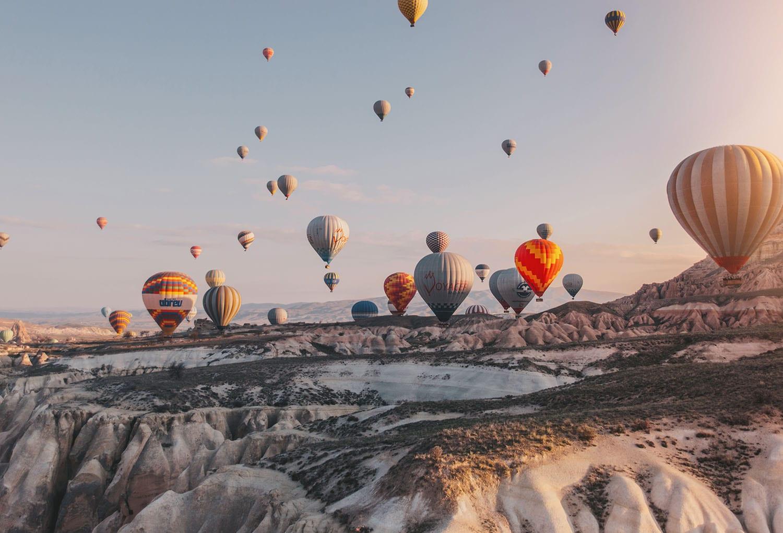 Magical: Hot air ballooning in Cappadocia, Turkey