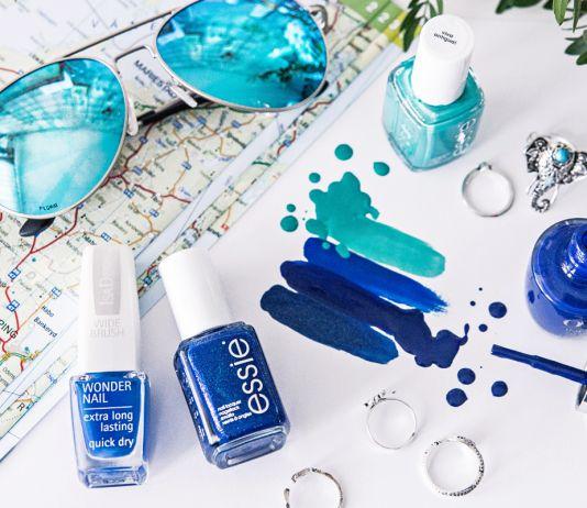 Blue & Aqua Nail Polishes 2016
