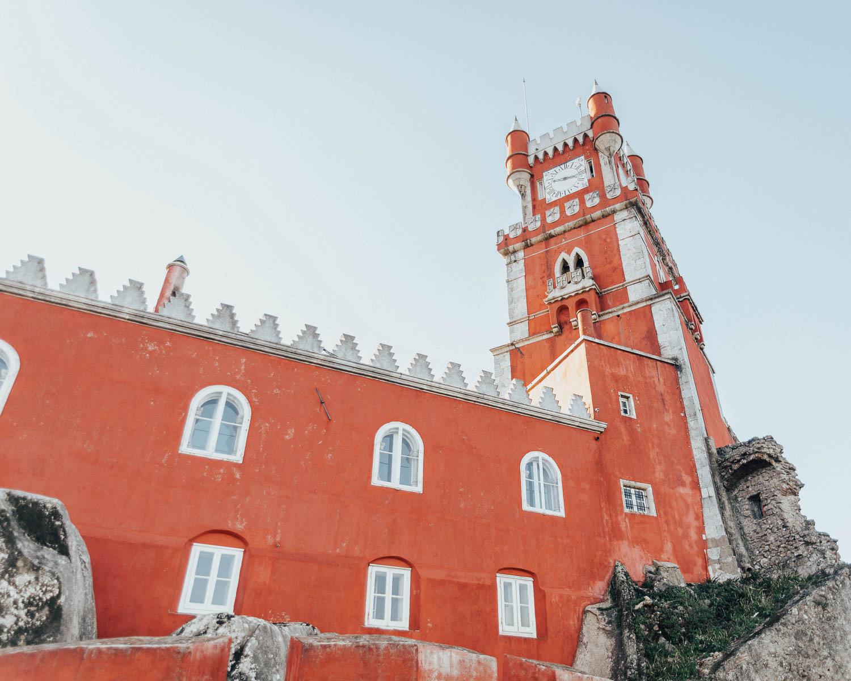 Pena Palace, Palacio da Pena, Sintra, Portugal