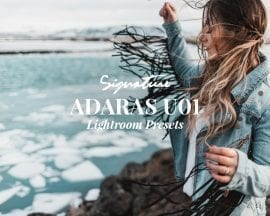 ADARAS Signature Instagram Theme Lightroom Preset U01