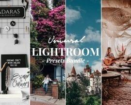 ADARAS Universal Lightroom Presets Bundle - Travel & Lifestyle Presets