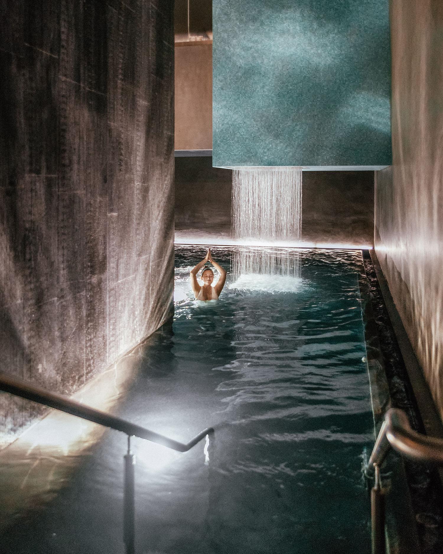Adaras relaxing in Bain-Bleu Hammam & Spa Genève-Plage