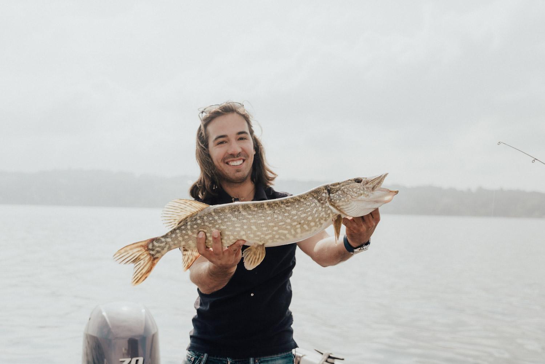 Fish Caught in Lake Geneva with Geneva Boats Fishing Tour