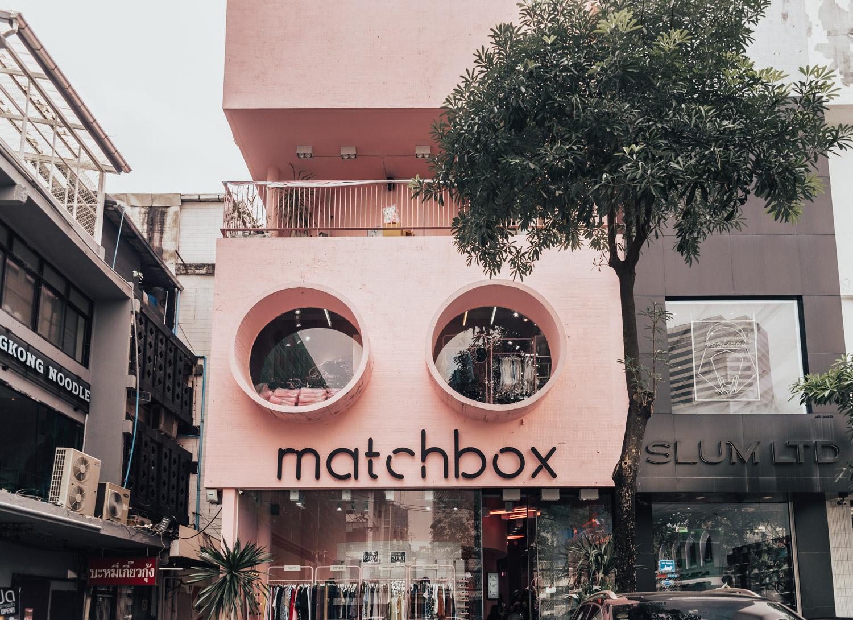 Pink Planter Cafe, Matchbox, Bangkok, Thailand