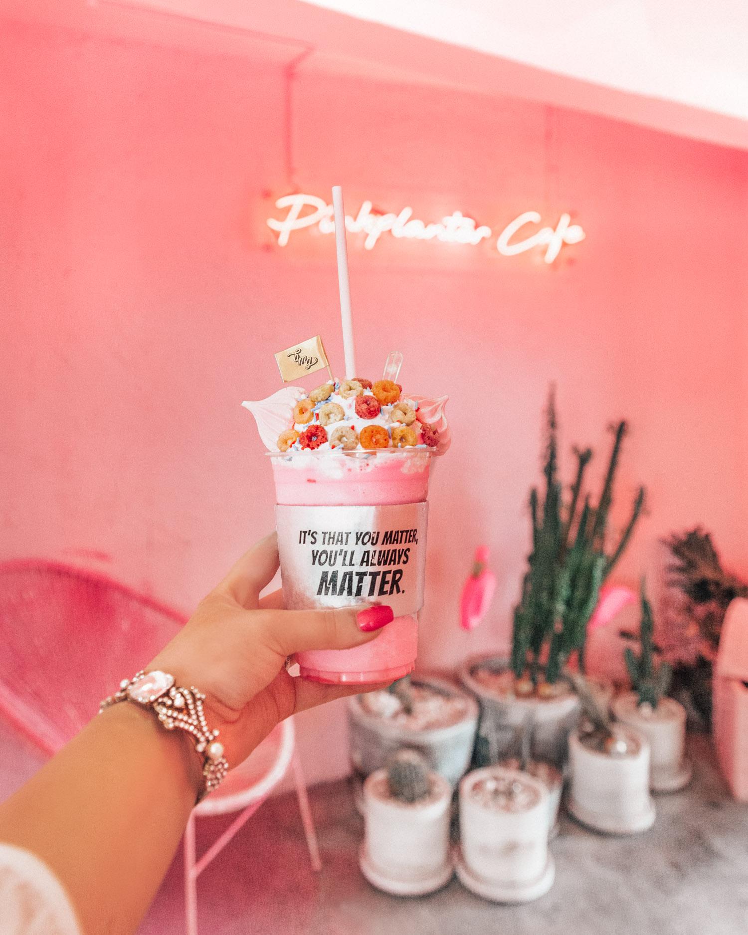 Cutest cafés in Bangkok, Thailand: Pink Planter Café