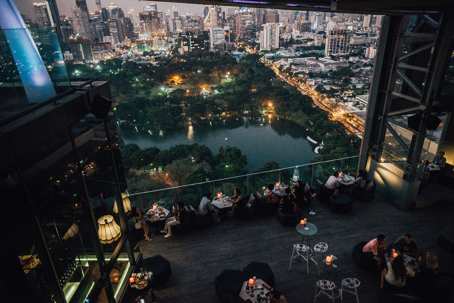 Park Society, So Sofitel - Rooftop Dining in Bangkok