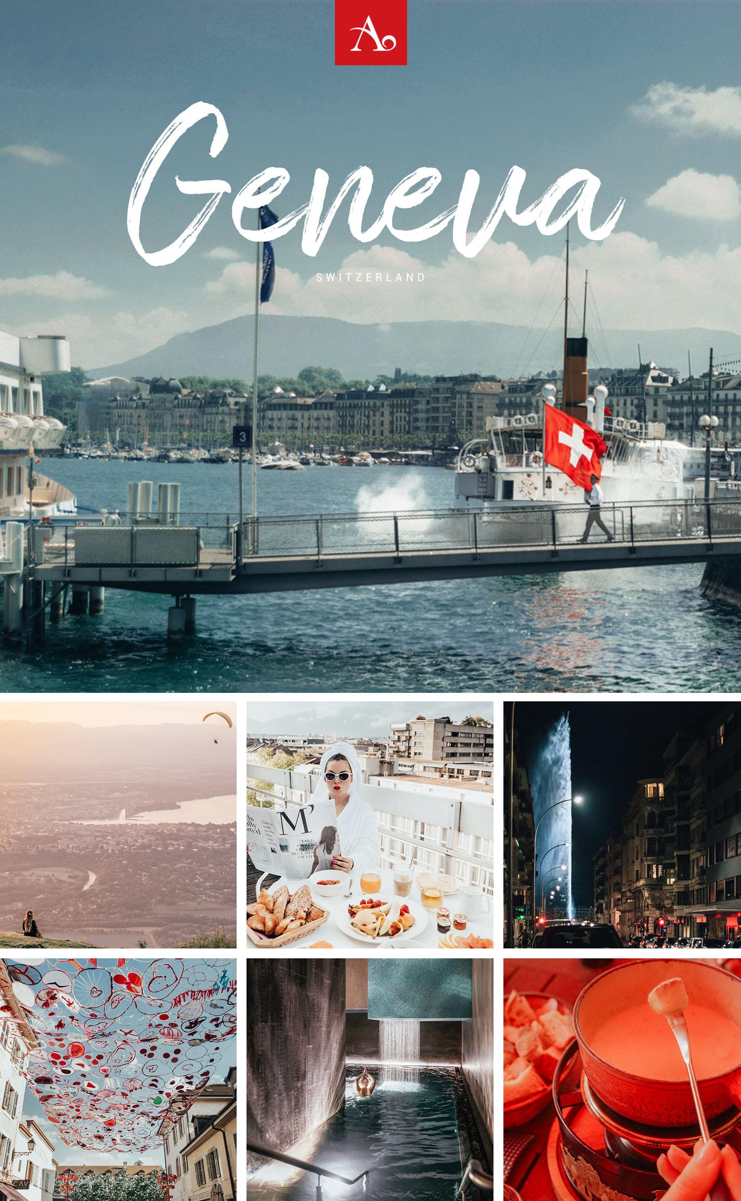 First Timer's Guide to Geneva, Switzerland