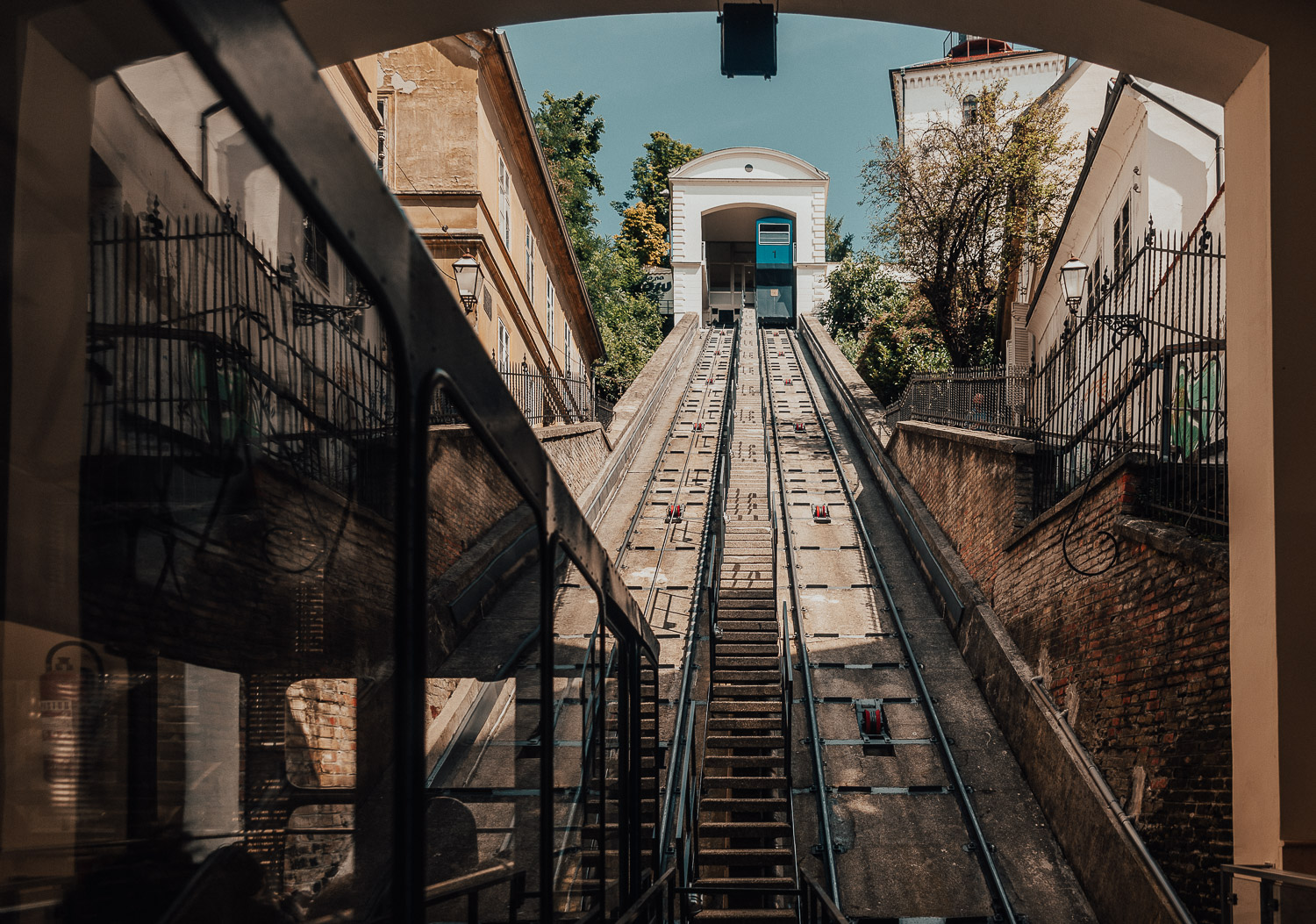 Cable Car in Zagreb
