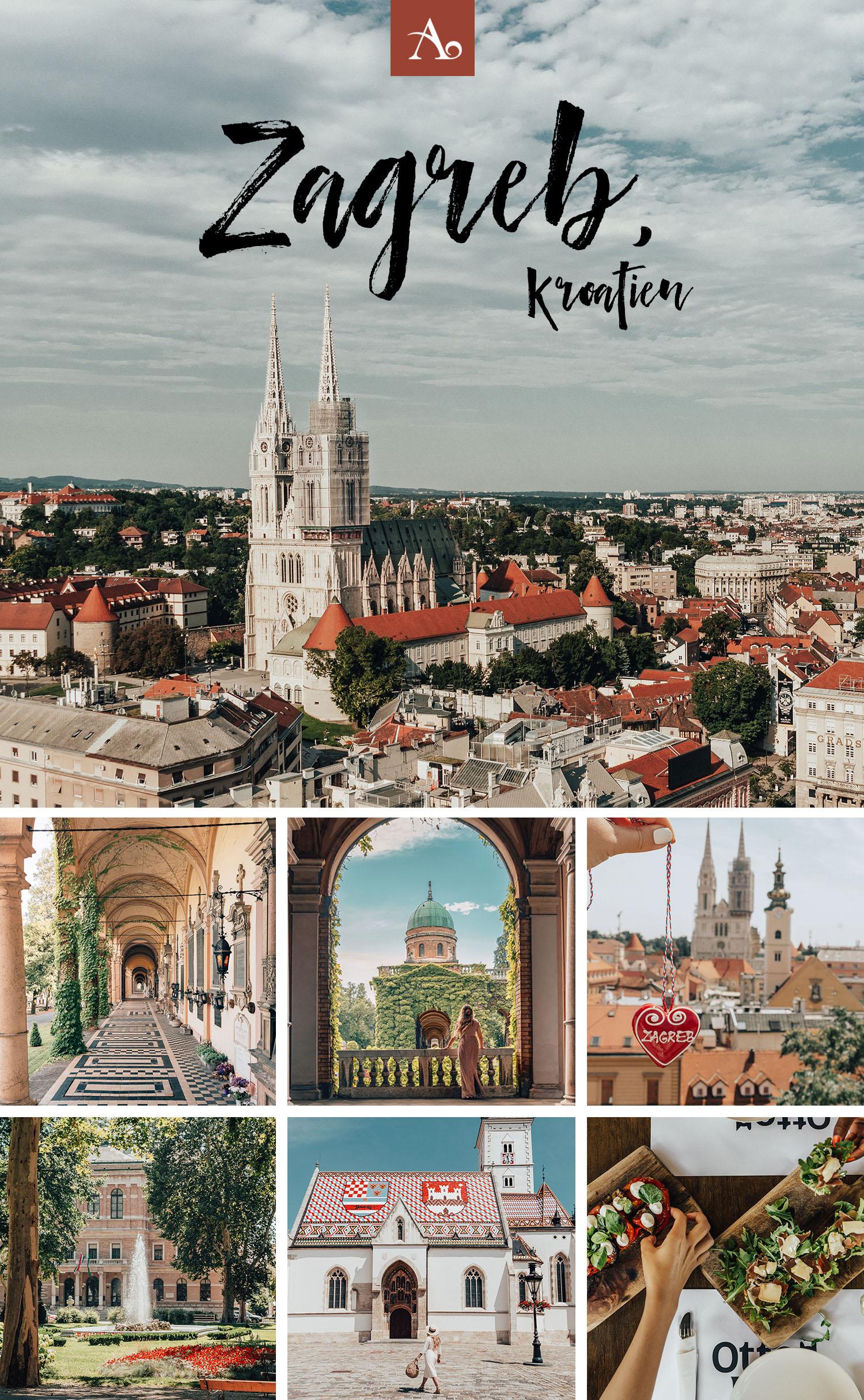 Reseguide: 16 Saker att göra i Zagreb, Kroatien