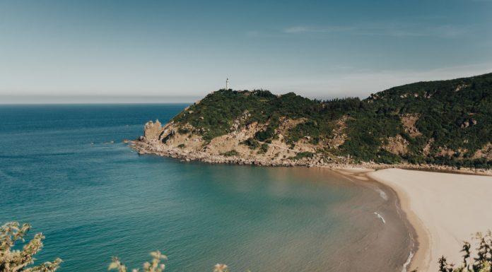 Bai-Mon Beach & Mui Dien Lighthouse
