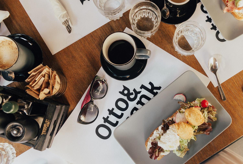 Otto & Frank Restaurant in Zagreb