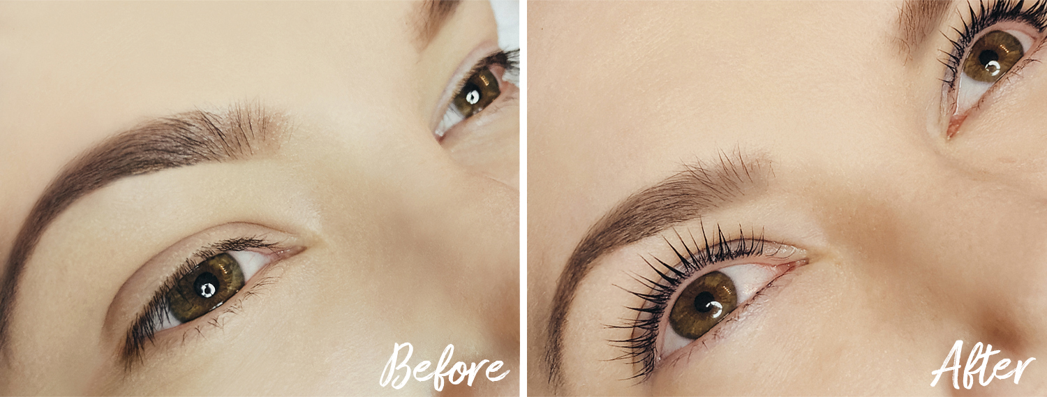 Yumi Lashes: Before & After Keratin Lash Treatment