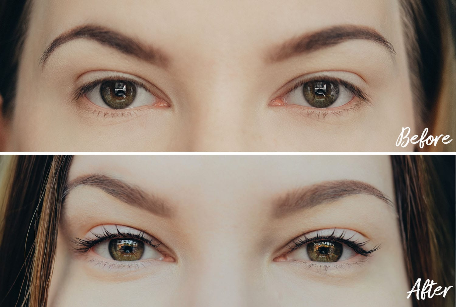 Yumi Lashes: Before & After Keratin Lash Lift Treatment