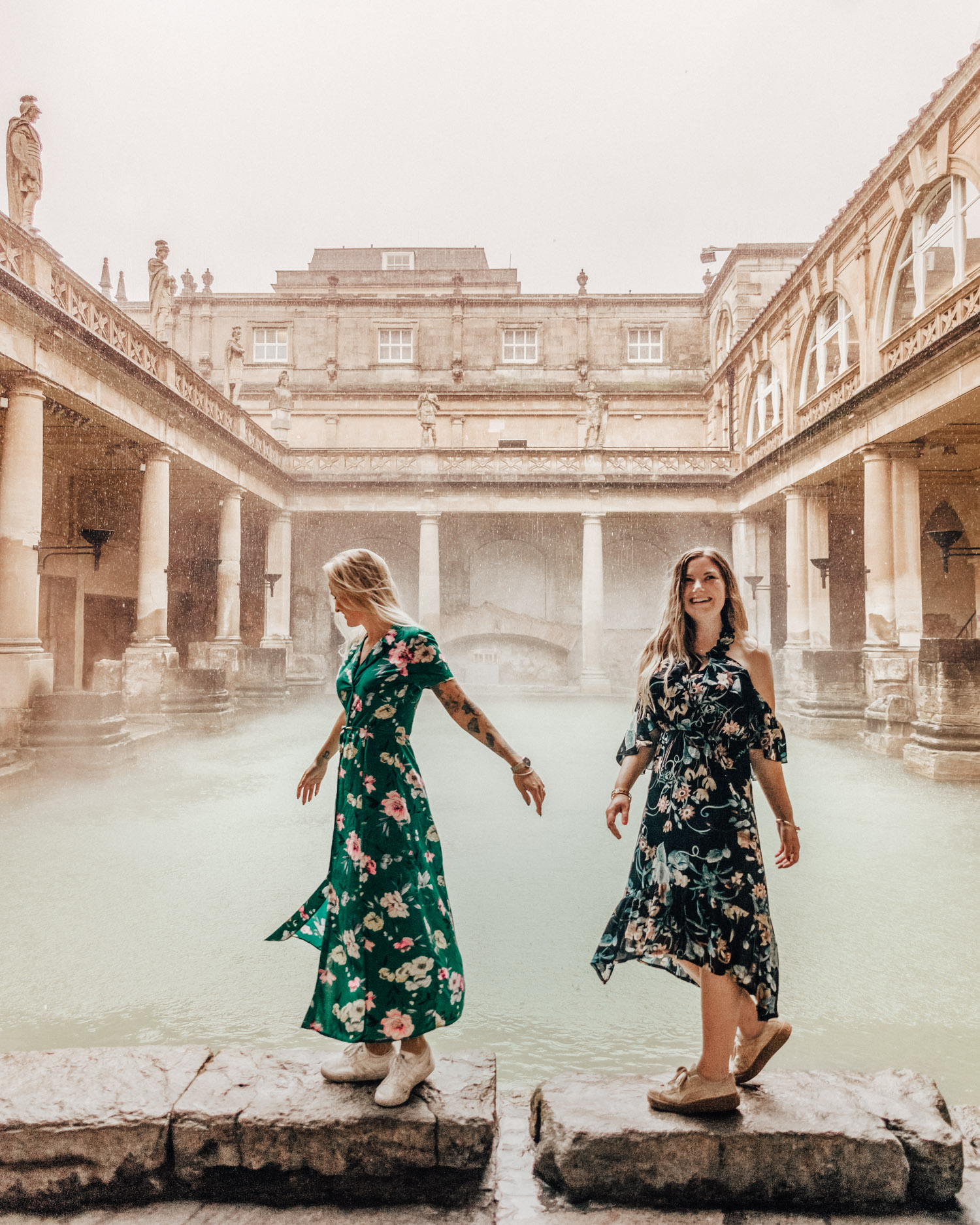 A Weekend in Bath | The Roman Baths - Things to see in Bath, Somerset