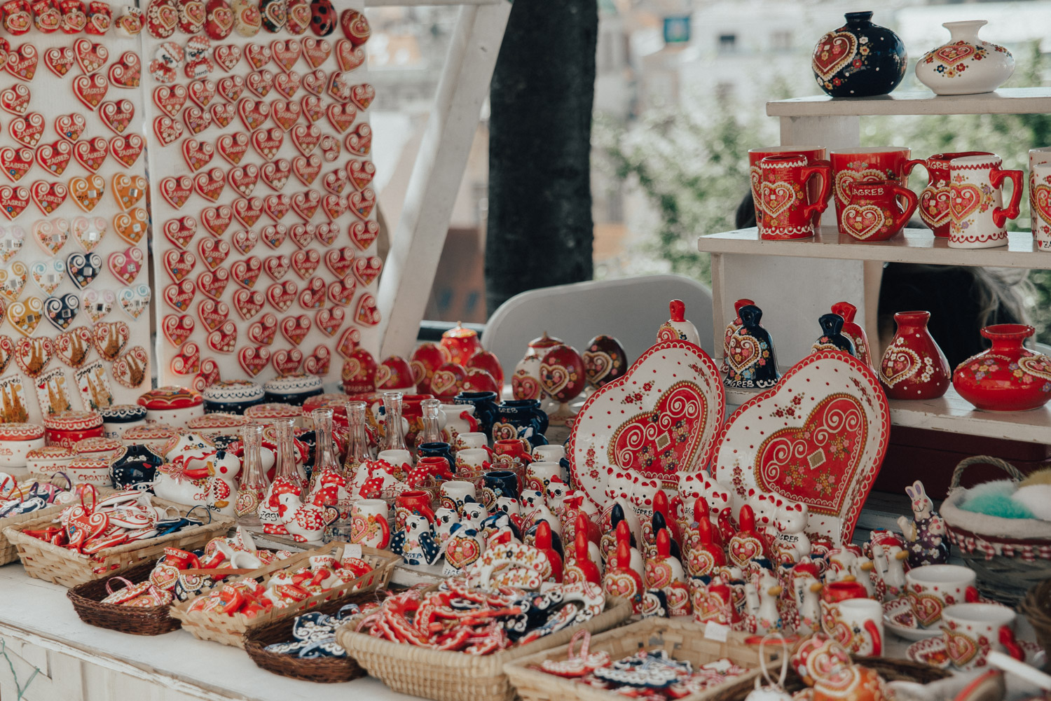 The Gingerbread Heart - a traditional souvenir in Zagreb, Croatia