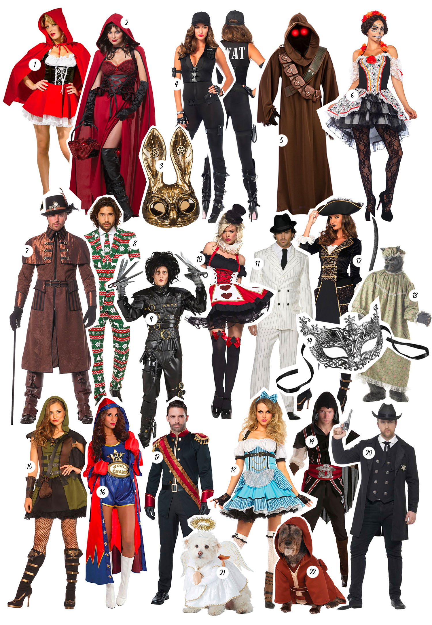 +20 Halloween Costume Ideas