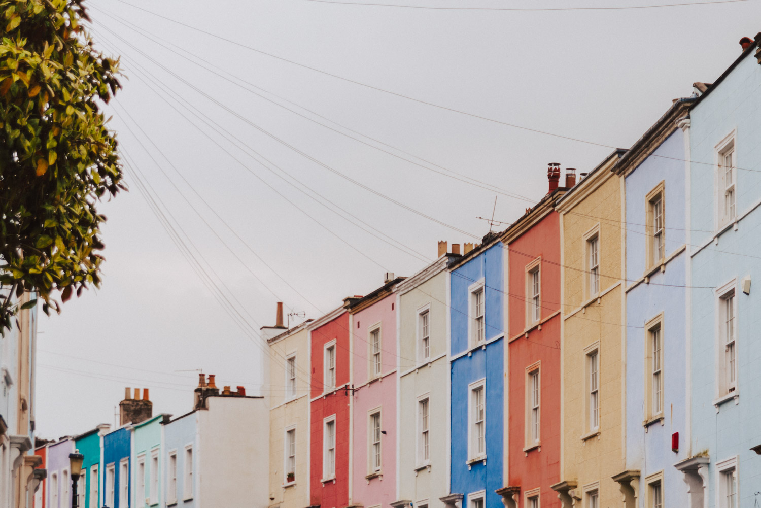 Things to See in Bristol | Colorful Houses in Cliftonwood
