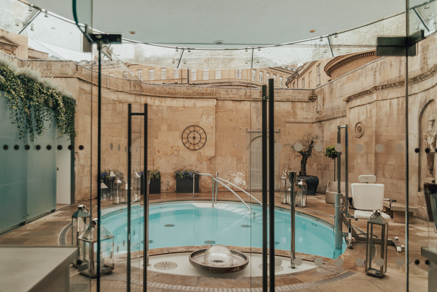 The Cross Baths, Private Hire at Thermae Bath Spa