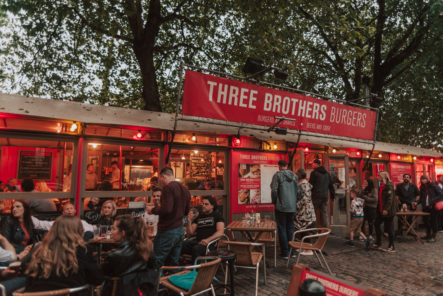 Three Brothers Burgers Restaurant, Bristol
