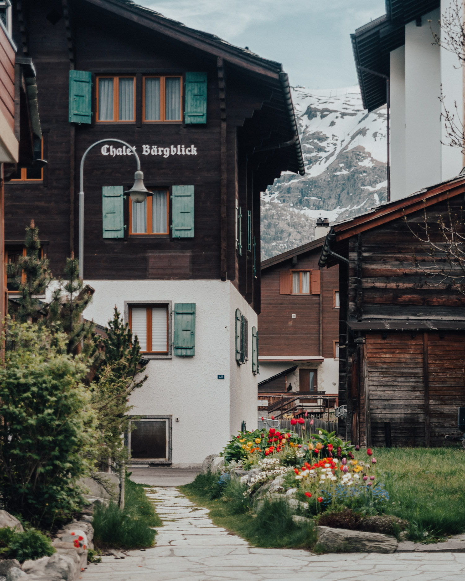 Pretty village in Zermatt