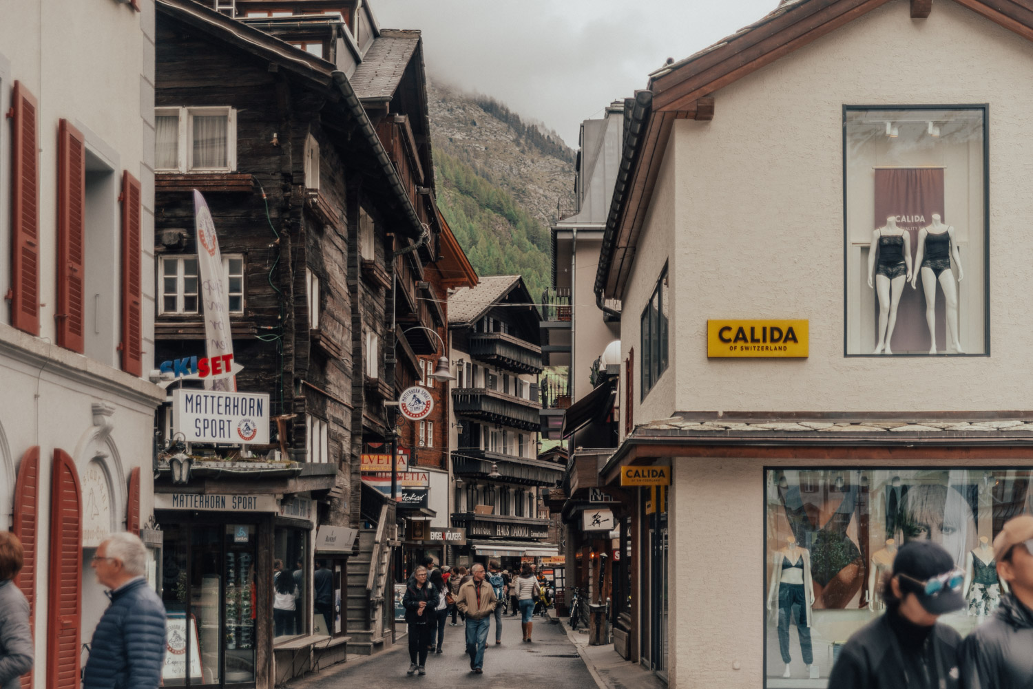 Shopping in Zermatt