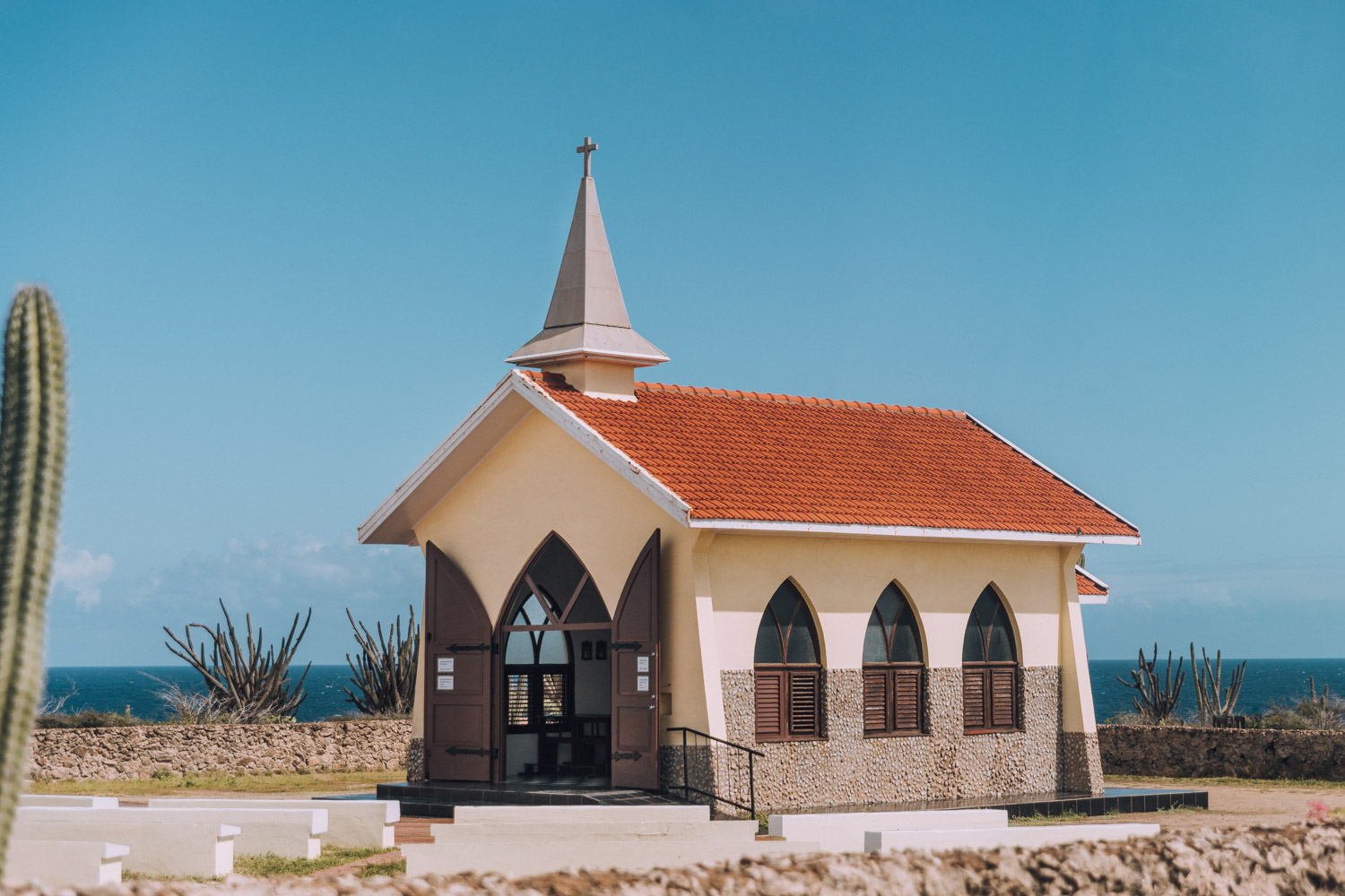 Alto Vista Chapel | The Ultimate Aruba Travel Guide