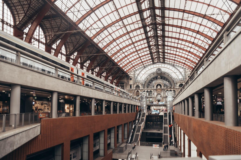 Antwerpen-Centraal Railway Station, Belgium