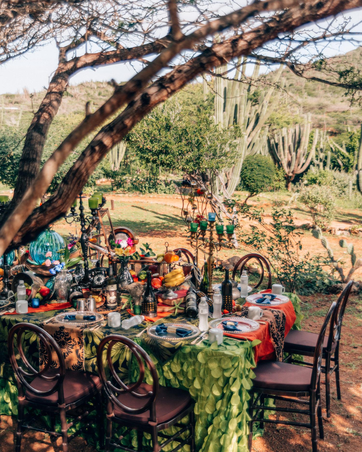 Breakfast in Arikok National Park | The Ultimate Aruba Travel Guide
