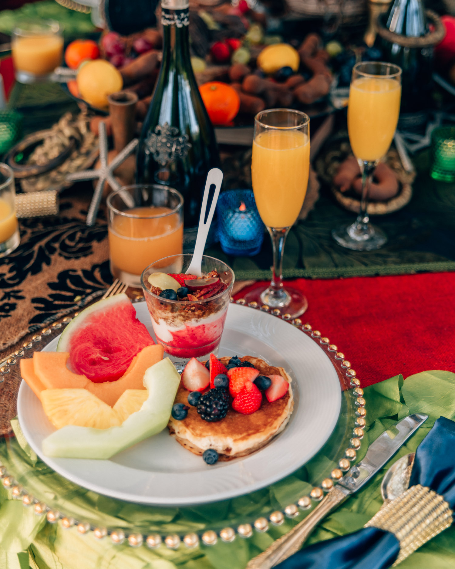 Breakfast in Arikok National Park - Aruba