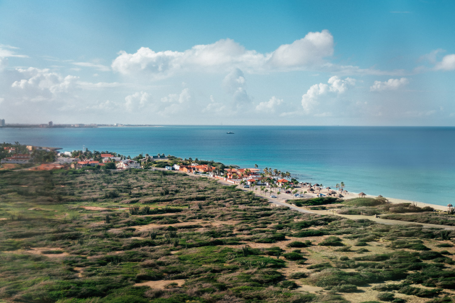 View from California Lighthouse | The Ultimate Aruba Travel Guide