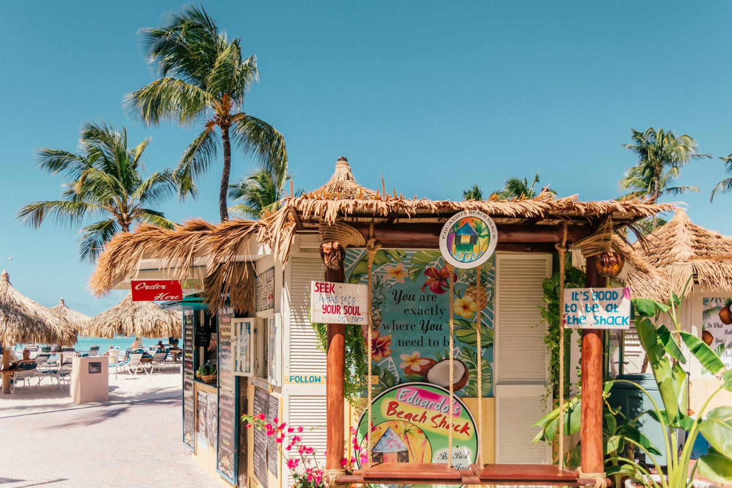 Eduardo's Beach Shack | The Ultimate Aruba Travel Guide