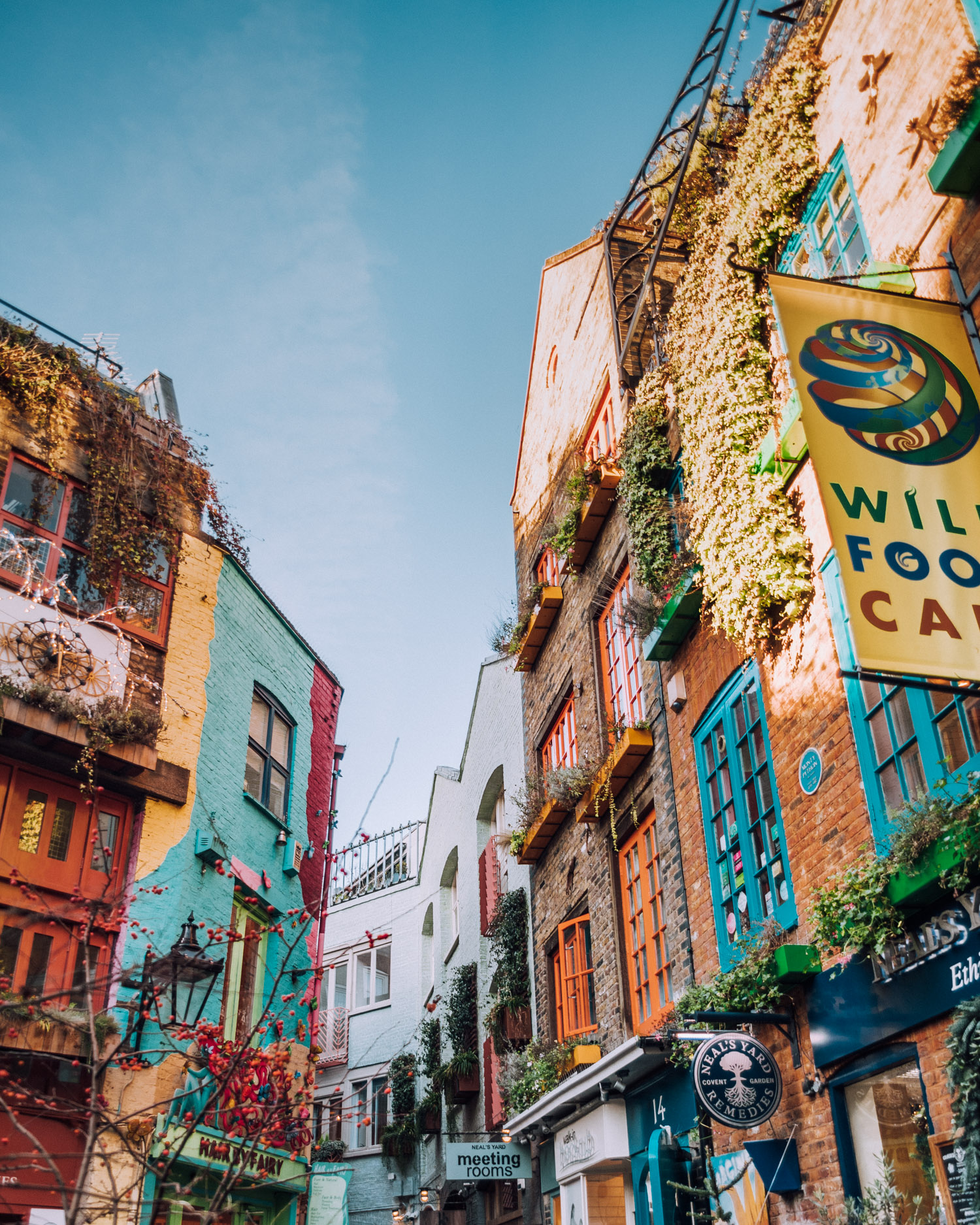 Neal's Yard | A Mary Poppins Guide to London