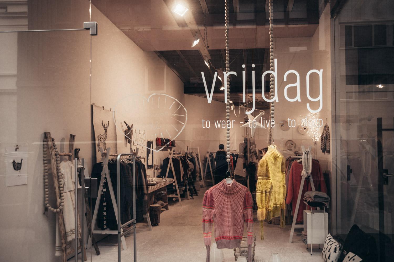 Vrijdag, Shopping in Antwerp