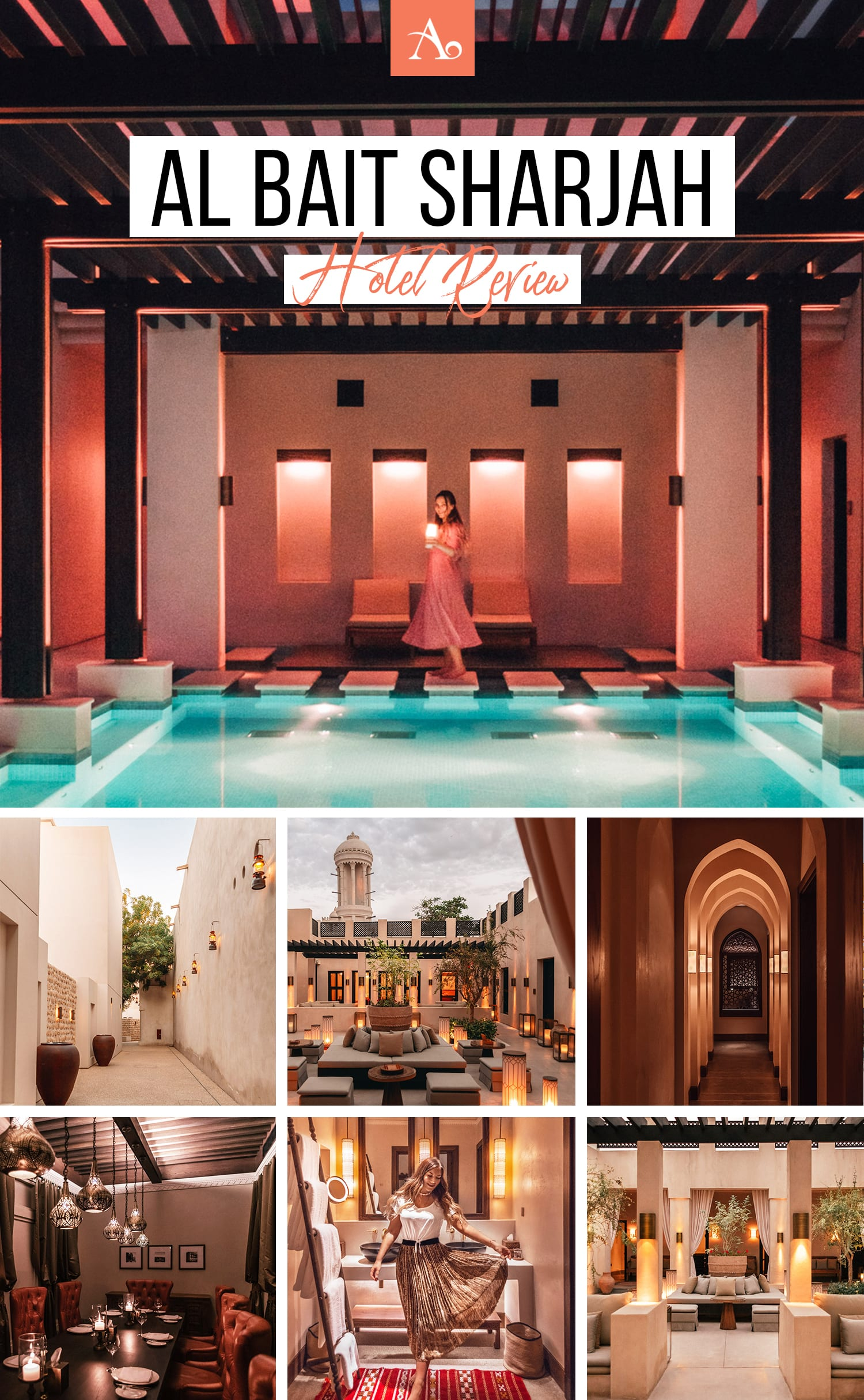 Al Bait Sharjah Hotel Review | Five-Star Boutique Resort in UAE