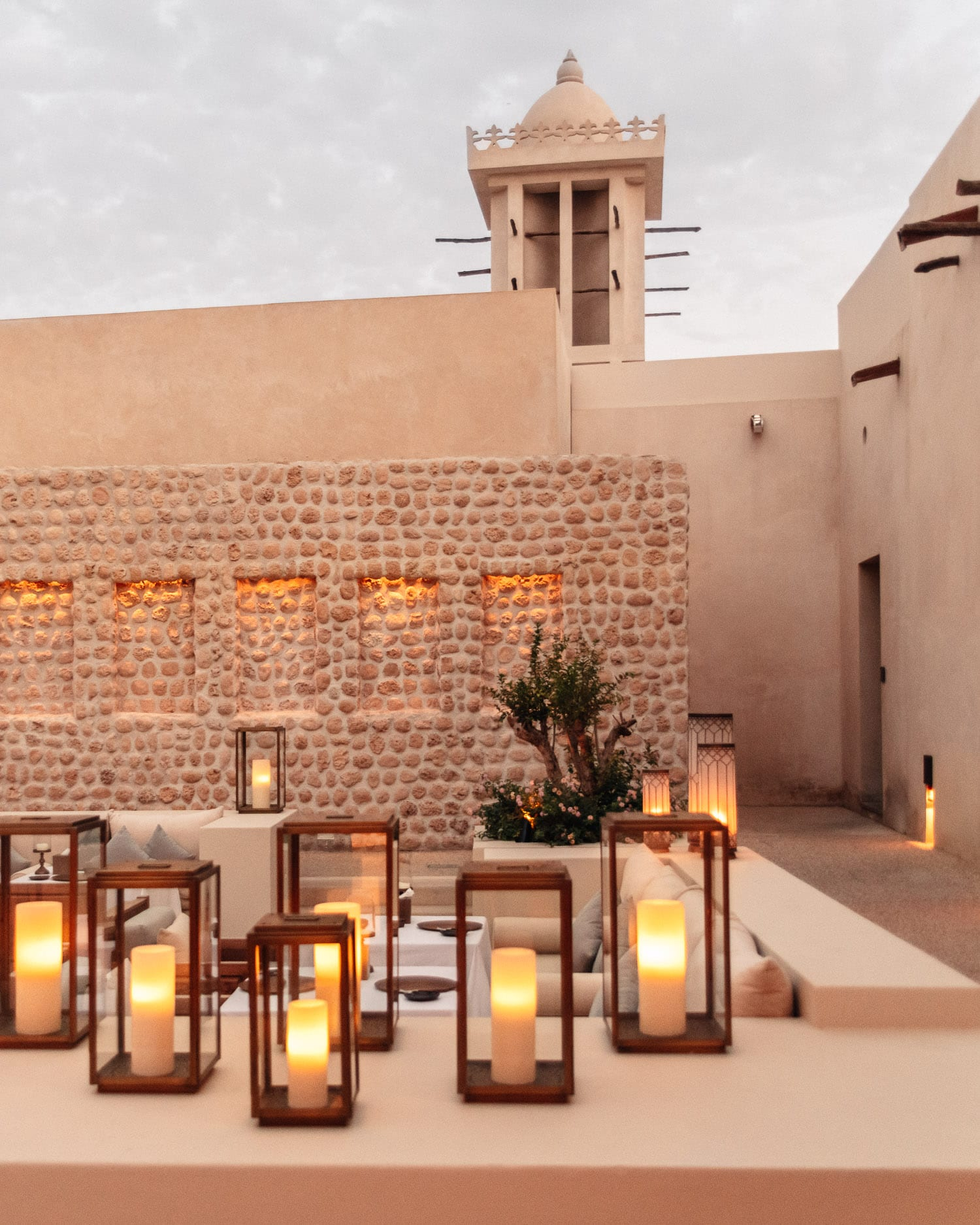 Outdoor dining, The Arabic Restaurant, Al Bait Sharjah